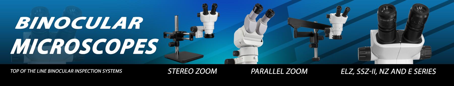 Scienscope: Binocular Microscopes - E-Series Parallel Zoom